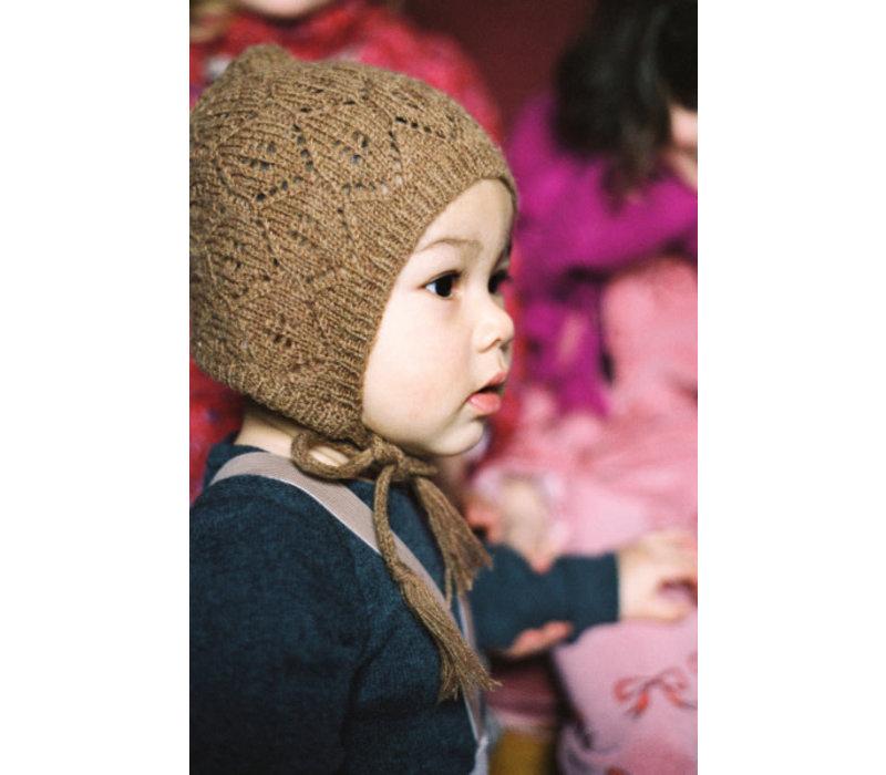 Maed for Mini Charming Cheetah Baby hat