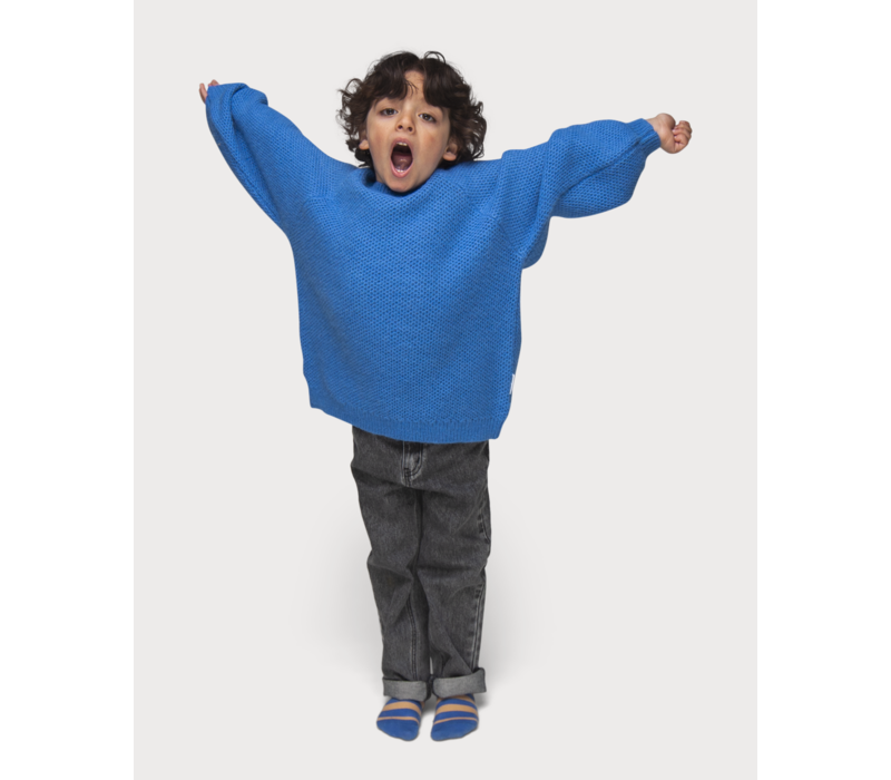 Maed for Mini Flamboyant Falcon Knit Sweater