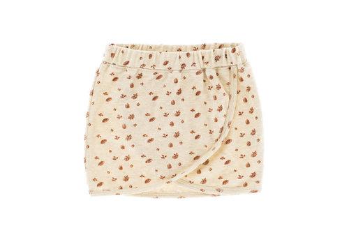 Riffle Riffle skirt ross mesh knit white