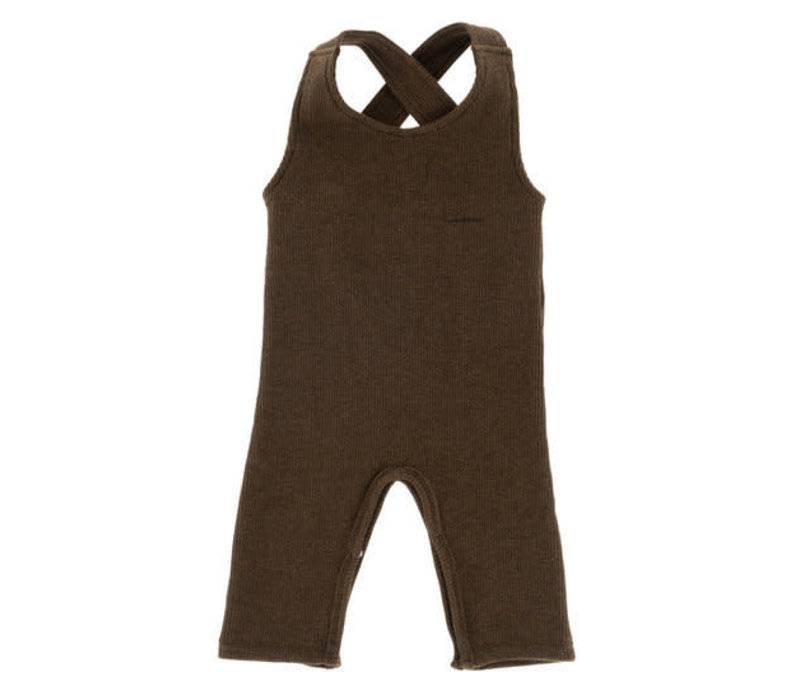 Riffle Suit ss derby rib brown
