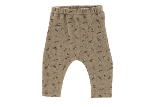 Riffle Riffle Baggy pants mesh knit taupe