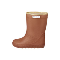 Enfant Thermo Boots Glitter Leather Brown