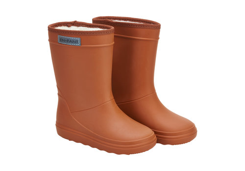 EN FANT Enfant Thermo Boots Leather Brown