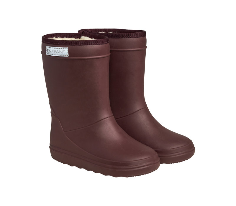 Enfant Thermo Boots Vineyard Wine