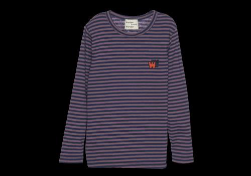 Wander & Wonder Wander & Wonder Tee Clay Stripe