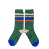 Wander & Wonder Wander & Wonder Striped Socks Emerald