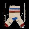 Wander & Wonder Wander & Wonder Striped Socks Cream