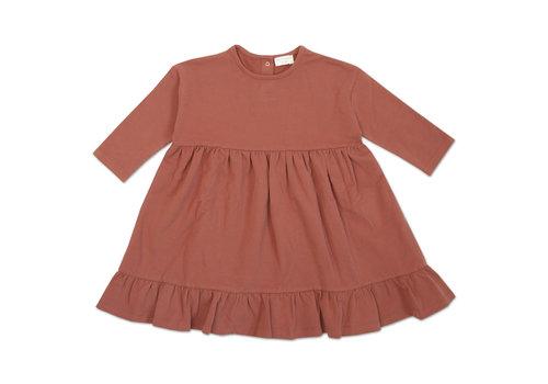 Petit Blush Petit Blush Ruffle Dress Marsala