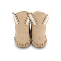 Donsje Baby Slof Kapi Classic Lining Bunny Taupe Nubuck