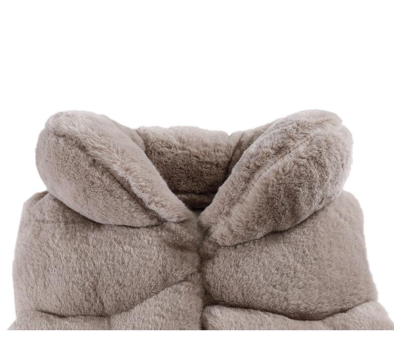 Donsje Jane Bodywarmer Cloudy Teddy
