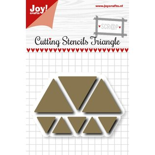 Joy!Crafts Scrap Snijstencil - Triangles