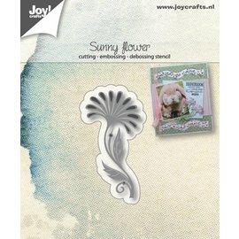 Joy!Crafts Snij-embos-debosstencil - Bloem Exotisch