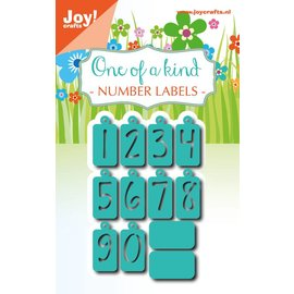 Joy!Crafts Snijstencils - Noor - Cijferlabels