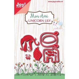 Joy!Crafts Snijstencil -Mon Ami - Unicorn Lily