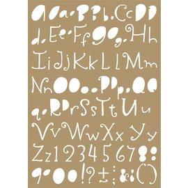 Joy!Crafts Polybesa Mask stencil - Lettering