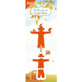 Joy!Crafts Snij-embosstencil - At the farm- Vogelverschrikker