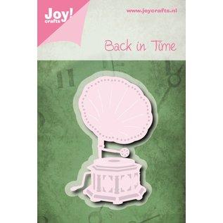 Joy!Crafts Snij-embosstencil - Grammafoon