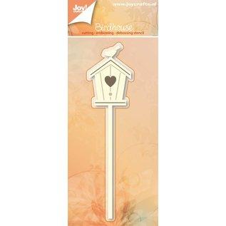 Joy!Crafts Basislijn snij-embos-debosstencil- Vogel & huisje