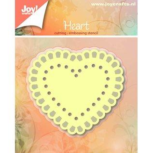Joy!Crafts Basislijn Snij- en Embosstencil - Hart