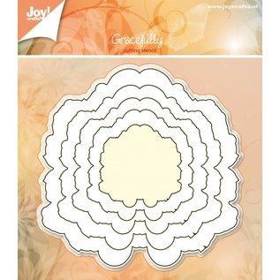 Joy!Crafts Basislijn snijstencils - Sierlijk 5 st