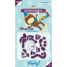 Joy!Crafts Snijstencils - Dendennis Party - Slingeraap