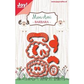 Joy!Crafts Snijstencil - Mon Ami - Schaap Barbara