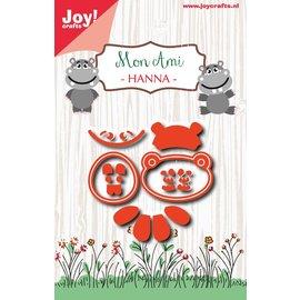 Joy!Crafts Snijstencil - Mon Ami - Hanna
