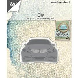 Joy!Crafts Snij-embos-debosstencil - Moderne auto