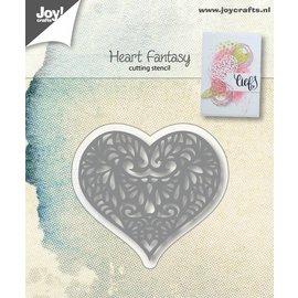 Joy!Crafts Snijstencil - Hart Fantasie