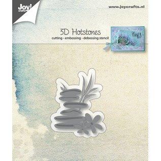 Joy!Crafts 3D-Snij-embos-debosstencil - Hotstones