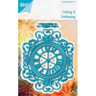 Joy!Crafts Snij-embosstencil - Klok