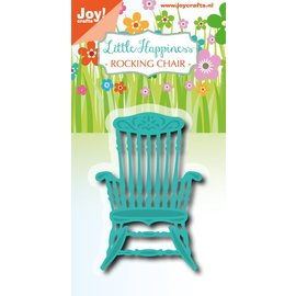 Joy!Crafts Snij-embosstencil - LH -Schommelstoel