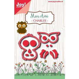 Joy!Crafts Snijstencil - Mon Ami - Uiltje Charles