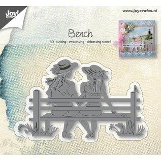 Joy!Crafts Snij-embos-debosstencil - Vriendschaps bank