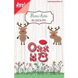 Joy!Crafts Snijstencil -  Mon Ami - Rudolph