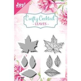 Joy!Crafts Snijstencil + stempel - CC - Bladeren diverse
