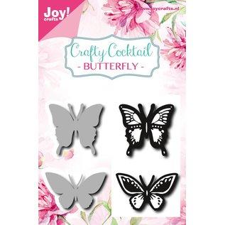 Joy!Crafts Clearstempel+Snijstencil - Vlinders