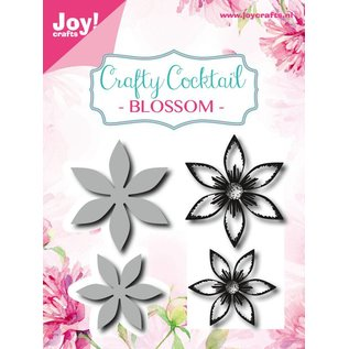 Joy!Crafts Snijstencil/Clear stempel - Bloemen 2st