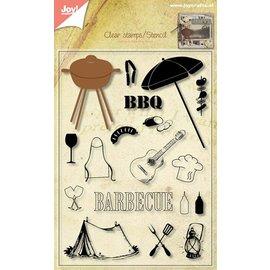 Joy!Crafts Snij stencil/stempel - BBQ Pakket