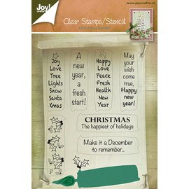 Joy!Crafts Set - stempels + stencil