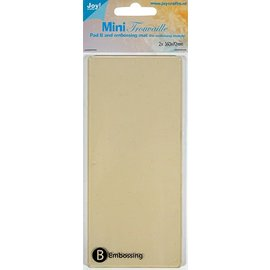 Joy!Crafts Joy! Mini-Trouvaille - B - Embossing plaat + mat