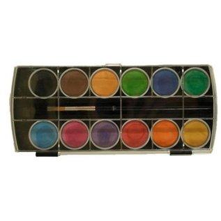 Joy!Crafts Aquarel verf 12 Kleuren+Penseel