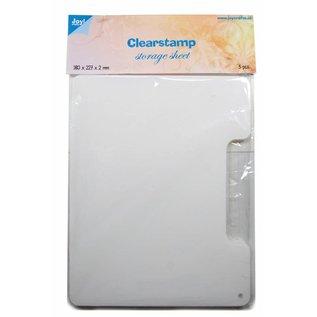 Joy!Crafts Clearstamp Opbergvellen 3 st. voor in koffer 6200/