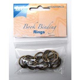Joy!Crafts Boekbinders-ringen, 20mm, 12st