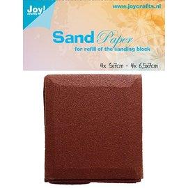 Joy!Crafts Navulling - schuurpapier voor schuurblokje (8st)