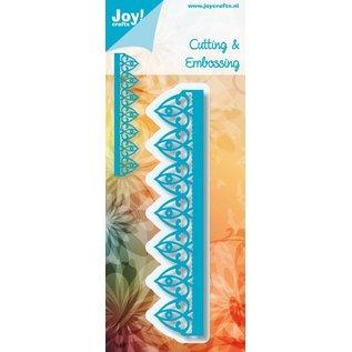 Joy!Crafts Snij-embosstencil - Ornamentrand Flash