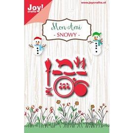 Joy!Crafts Snijstencil - Mon Ami - Snowy