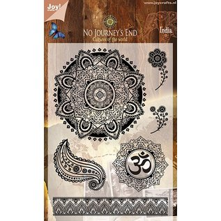 Joy!Crafts Clear stamp Landen Thema - India I