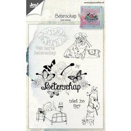 Joy!Crafts Clear stempel - Beterschap NL