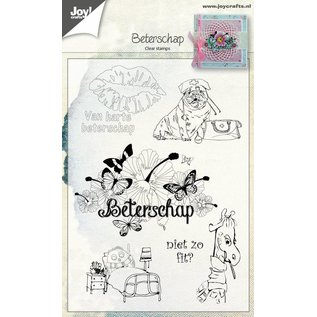 Joy!Crafts Clear stempel - Beterschap NL